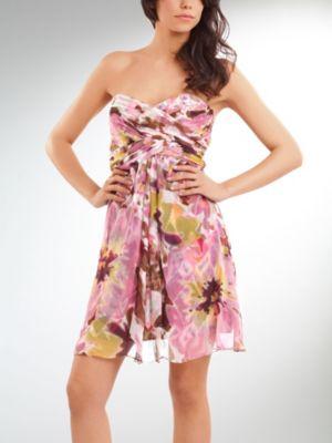 Short Silk Dress van kantoor artikelen tip.