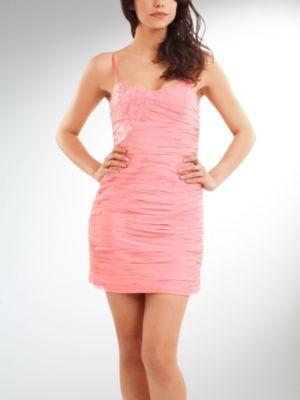 Bustier Silk Dress