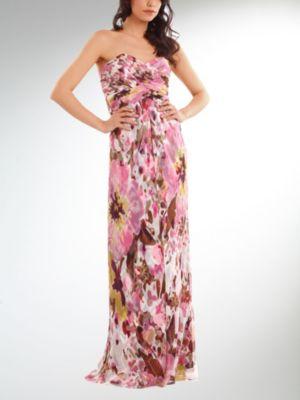 Long Silk Dress van kantoor artikelen tip.