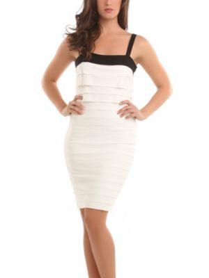Mini Flounces GbyM Dress
