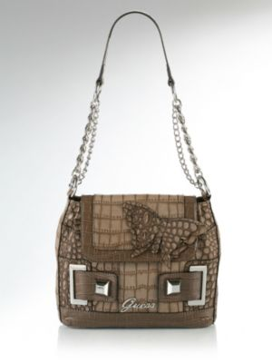 Guess Fancy Shoulder Bag With Flap 84