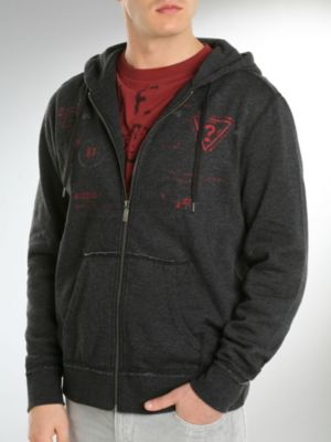 William Hooded Fleece