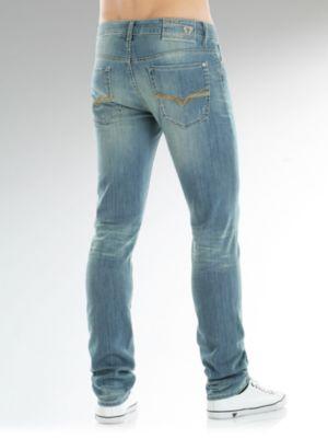 Skinny grant stretch denim andere merk jeans aanbiedingen kopen - Betegeld model van zijn miss bad ...