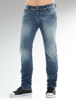 Kurt Discharge Western Denim