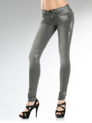 Foxy Skinny Superstretch Black Denim