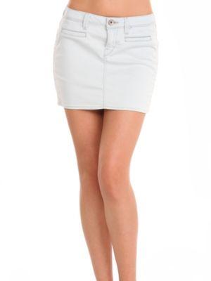 Mini Beverly Denim Skirt
