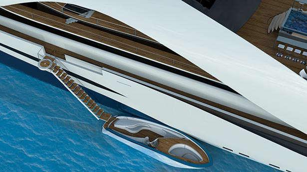 graham kukla custom yacht tender