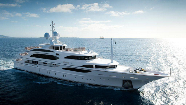 I Dynasty yacht for sale