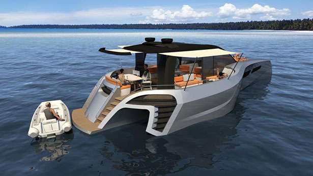 tri60 day boat concept trimaran mcconaghy boats bmt