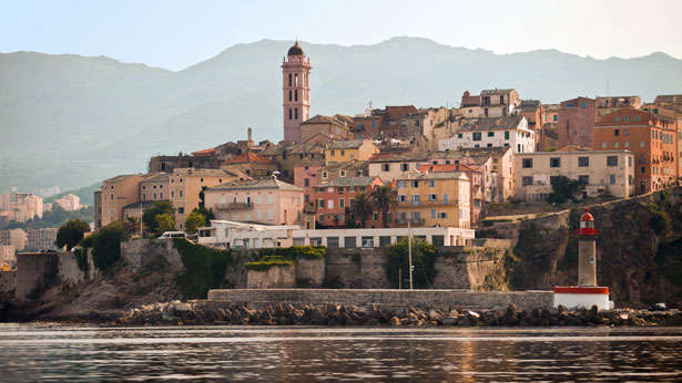 The town of Bastia