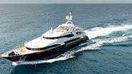 motor yacht Blue Vision for charter