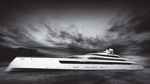 Estatement super yacht Pride Mega Yachts Monaco boat show