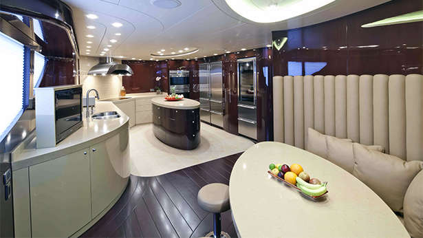 Yacht Country Kitchen Style Interior