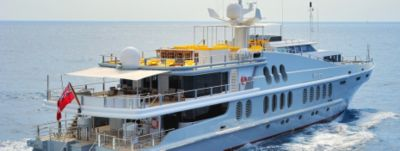 Superyacht Obsession available for charter