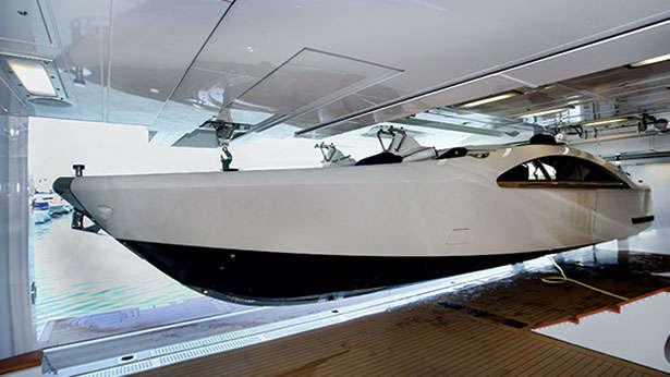Palladium yacht tender custom