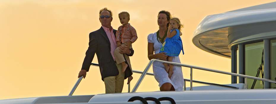 A charter is the perfect way to spend some quality time with family