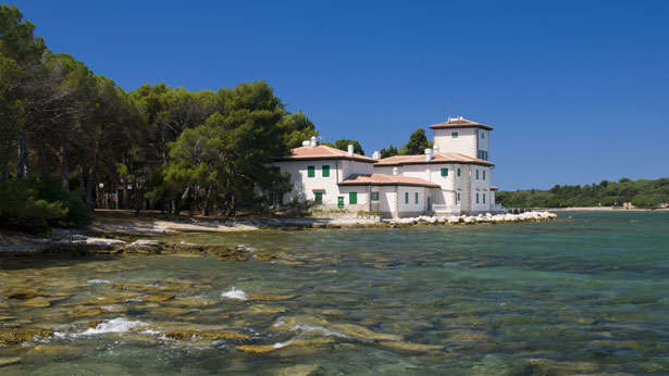 Villa on Veli Brijun