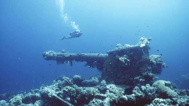 World War 2 wrecks, Chuuk Lagoon