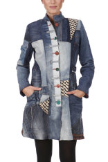 Manteaux & Vestes Desigual Collage Decorep