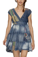 Dresses Desigual Vuelo Patch