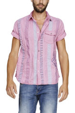 Shirts Desigual Strawberry Stripes Slim Fit