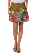 Faldas  Desigual Jungle