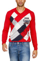 Pullover Desigual Ener Regular Fit
