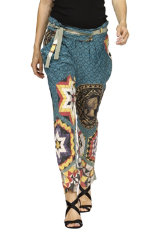 Trousers Desigual Blue Club