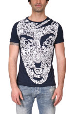 T-Shirts & Poloshirts Desigual Jeremy Face Slim Fit