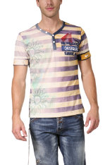 T-Shirts & Poloshirts Desigual Twenties  Stripes Regular Fit