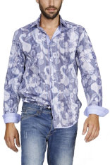 Shirts Desigual Floral Camuflage Regular Fit