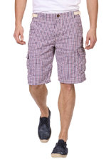 Hosen Desigual Small Checks Regular Fit