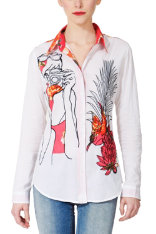 T-shirts & Camisas Desigual Vegetal Dream