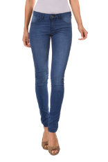 Trousers Desigual Jegging Blue Ret