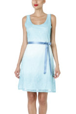 Dresses Desigual Blue Lake
