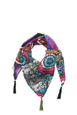 Accessories Desigual Triangulo Flores