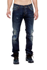 Trousers & Jeans Desigual Slim Leather