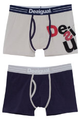 Bodywear Desigual Pack 2 Grey