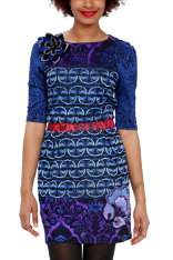 Vestits Desigual Lady Blue
