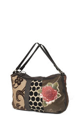 Alles sehen Desigual Medio Patch Big Rose