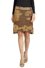 Skirts Desigual Chocolate