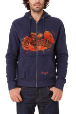 Items up to 70% off! Desigual Moto Fleecel