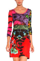 Dresses Desigual Blues Explosion