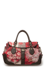 Neu in Desigual Salad Bag Big Rose