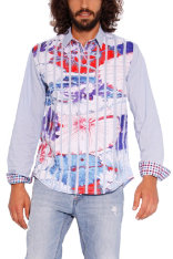 Shirts Desigual Flower Menúfar Stripes