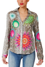 Chemises & Tops Desigual Chocolate