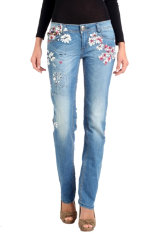 Denim Desigual Tropical Flowers