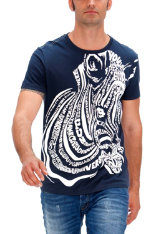 T-shirts & Polos Desigual High Density Zebra