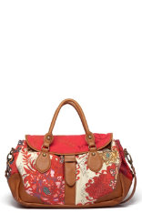 Bolsos Desigual Red Flowers