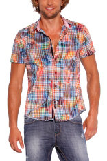 Camisas Desigual Lemon Checks